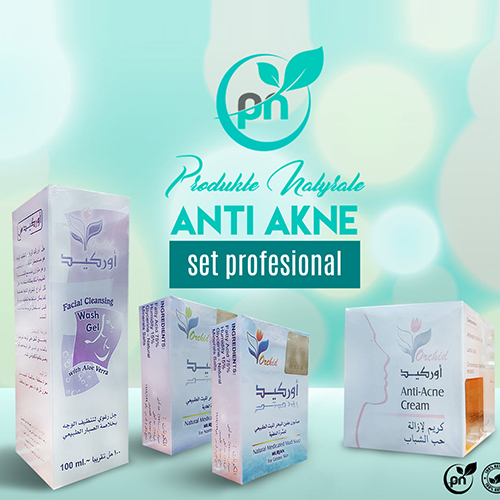 Set Profesional Orchid Kunder Akneve