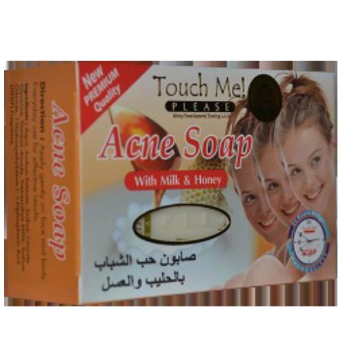 Touch Me Sapun Anti Akne me Qumesht dhe Mjalet