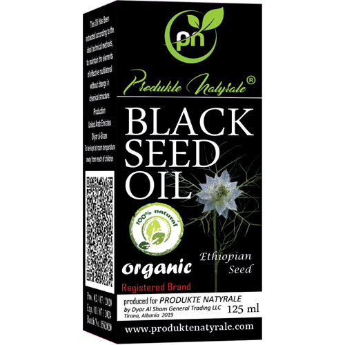 PN Organic Black Seed Oil 125 ml