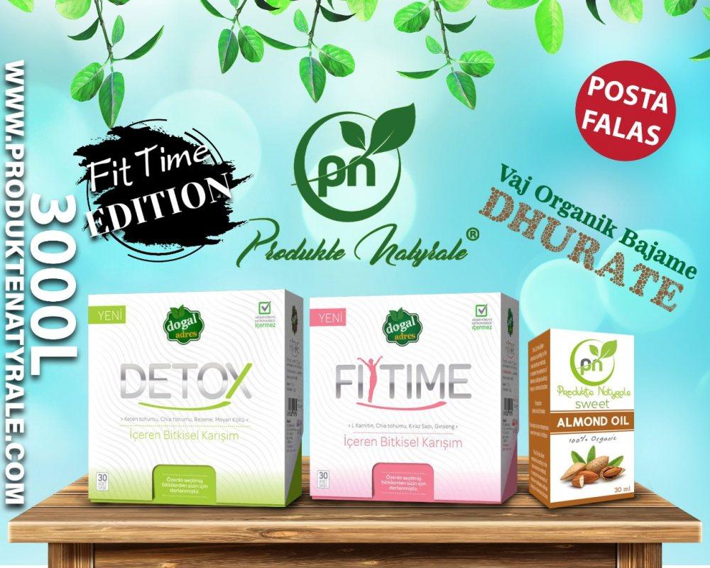 Fit & Detox Time + Vaj Organik Bajame Dhurate