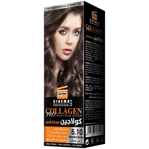 Kafe Qelibar Nitro Canada Cinema Professional Hair Color System