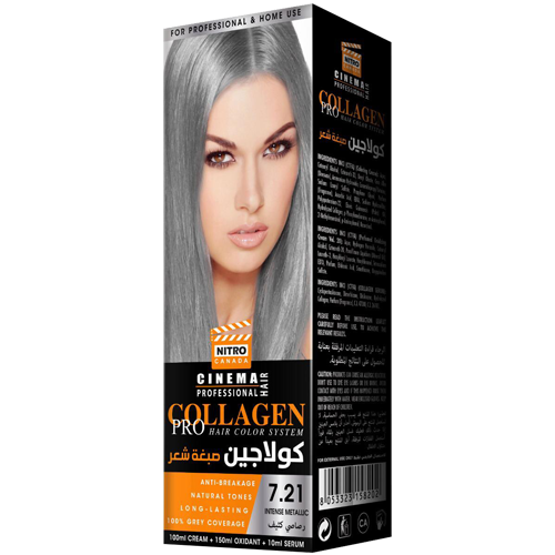 Metalike Intense Nitro Canada Cinema Professional Hair Color System