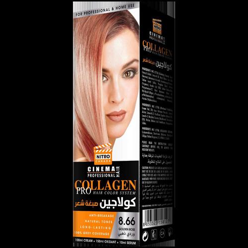 Trëndafili i Artë Nitro Canada Cinema Professional Hair Color System