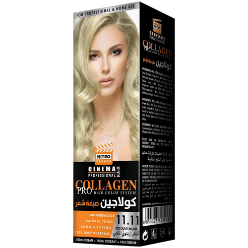 Bjonde Ulli e Akullt Nitro Canada Cinema Professional Hair Color System