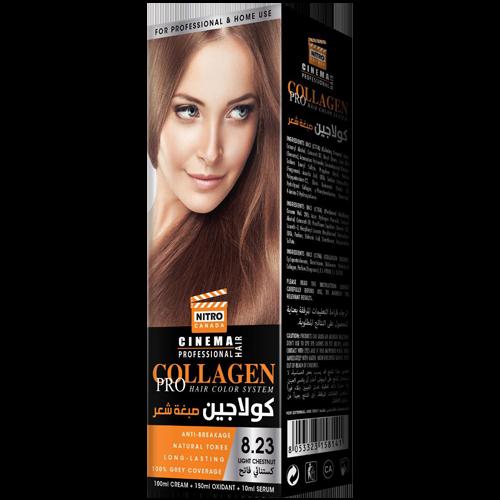 Gështenjë e Lehtë Nitro Canada Cinema Professional Hair Color System