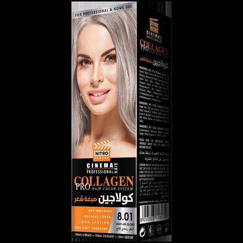 Bjonde e Hirët të Lehtë Nitro Canada Cinema Professional Hair Color System