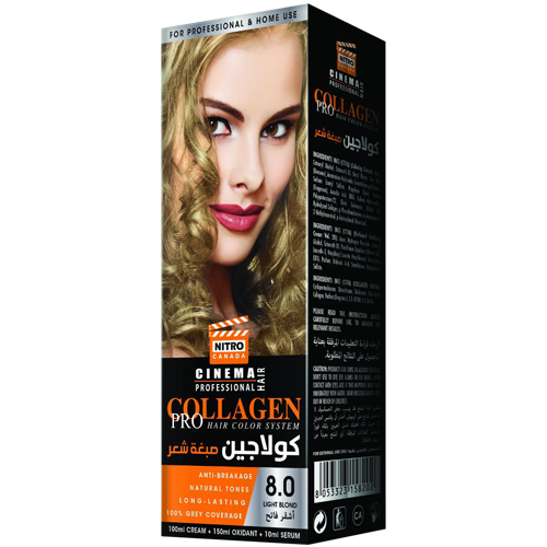Bjonde e Lehtë  Nitro Canada Cinema Professional Hair Color System