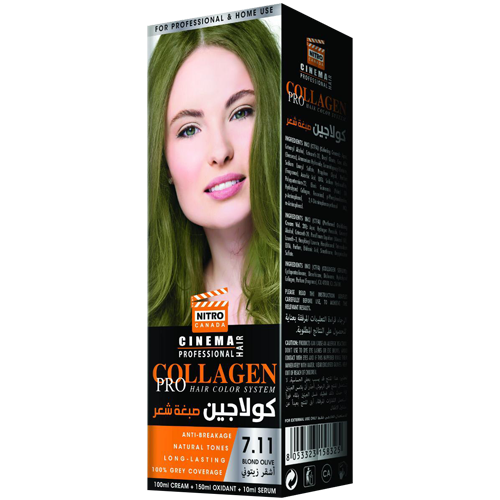 Ulliri Bjond Nitro Canada Cinema Professional Hair Color System