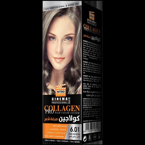 Hiri i Errët Bjond Nitro Canada Cinema Professional Hair Color System
