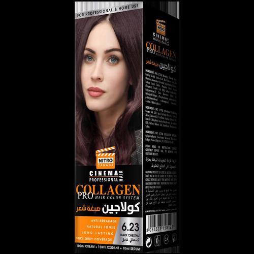 Gështenjë e Errët  Nitro Canada Cinema Professional Hair Color System
