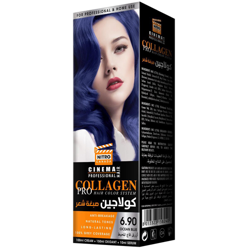 Oqeani Blu Nitro Canada Cinema Professional Hair Color System