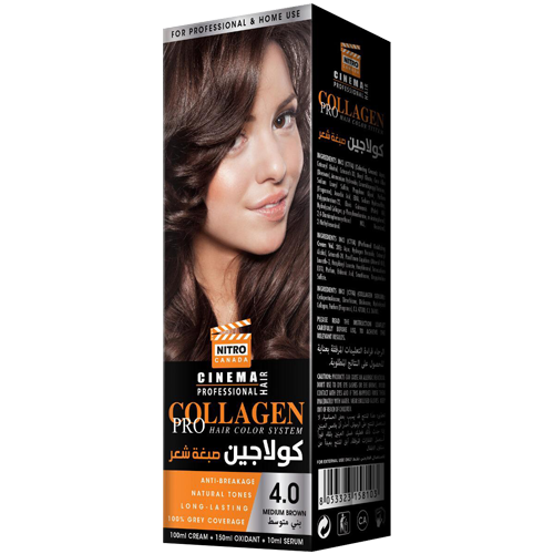 Kafe e Mesme Nitro Canada Cinema Professional Hair Color System