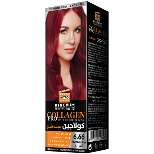 Shegë e Kuqe Nitro Canada Cinema Professional Hair Color System