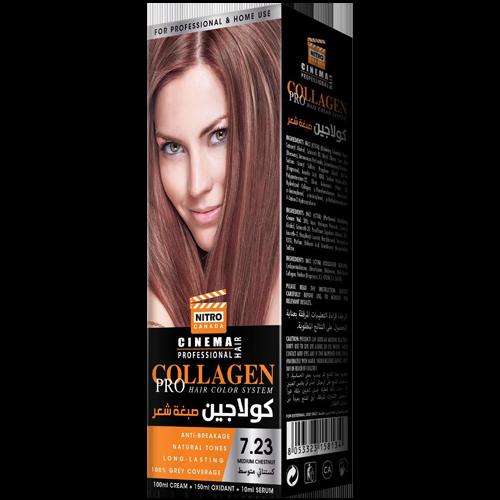 Gështenjë e Mesme Nitro Canada Cinema Professional Hair Color System
