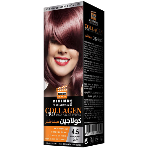 Dru i Kuq Nitro Canada Cinema Professional Hair Color System