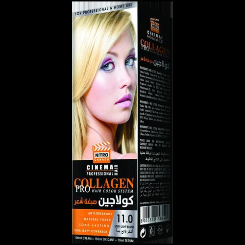 Bjonde Shumë e Lehtë Nitro Canada Cinema Professional Hair Color System