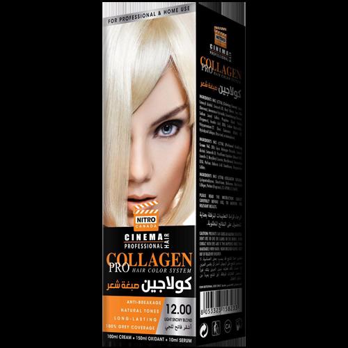Dëborë e Lehtë Bjond Nitro Canada Cinema Professional Hair Color System