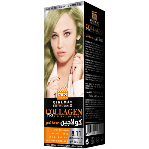 Ulli i Lehtë Bjond Nitro Canada Cinema Professional Hair Color System