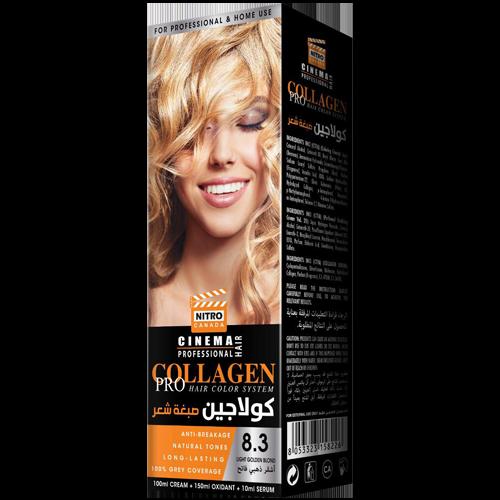 Bjonde e Artë i Lehtë Nitro Canada Cinema Professional Hair Color System