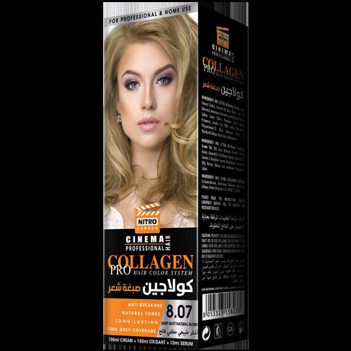 Mat Natyral i Lehtë Bjond Nitro Canada Cinema Professional Hair Color System