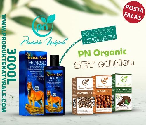 PN Organic Oil Set + Shampo Dhurate
