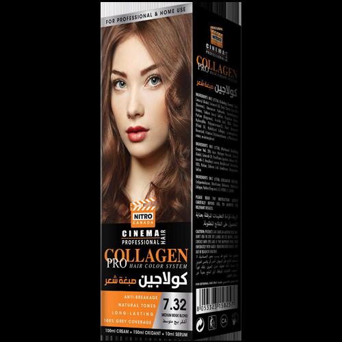 Bezhë Mesatare Bjond Nitro Canada Cinema Professional Hair Color System