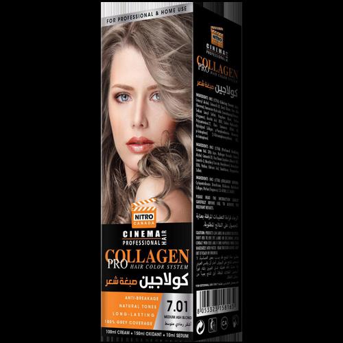 E Hirët Mesatare Bjond Nitro Canada Cinema Professional Hair Color System