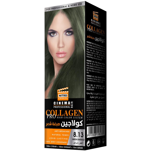 Smerald Jeshil Nitro Canada Cinema Professional Hair Color System
