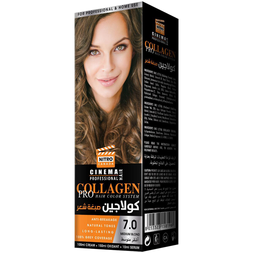 Bjonde Mesatare Nitro Canada Cinema Professional Hair Color System