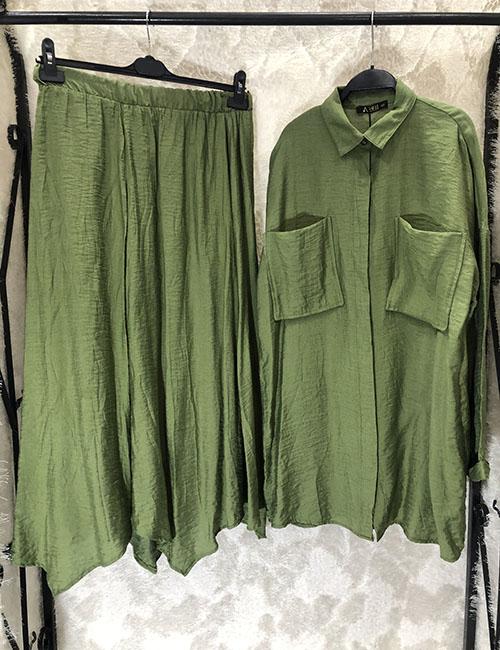 Komplet ne ngjyre jeshile