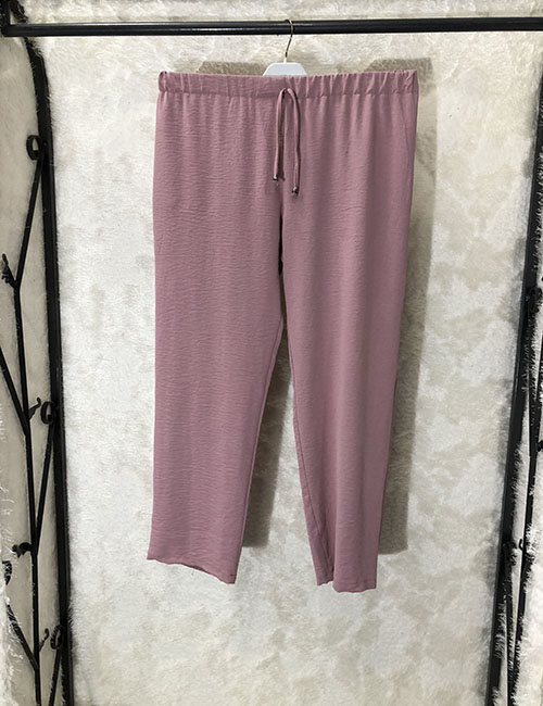 Pantallona krem ngjyre puder
