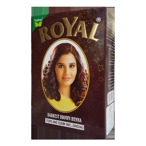 Darkest Brown Royal Henna
