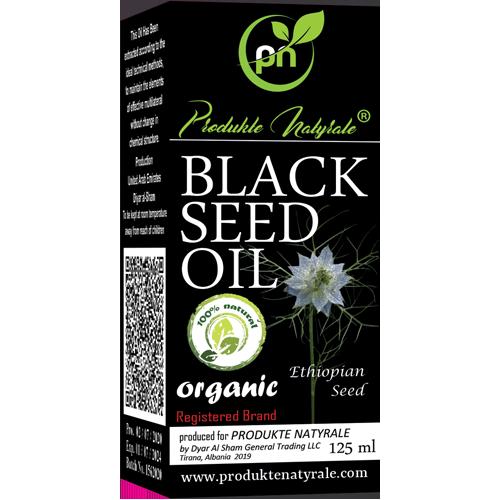 PN Organic Black Seed Oil 125 ml