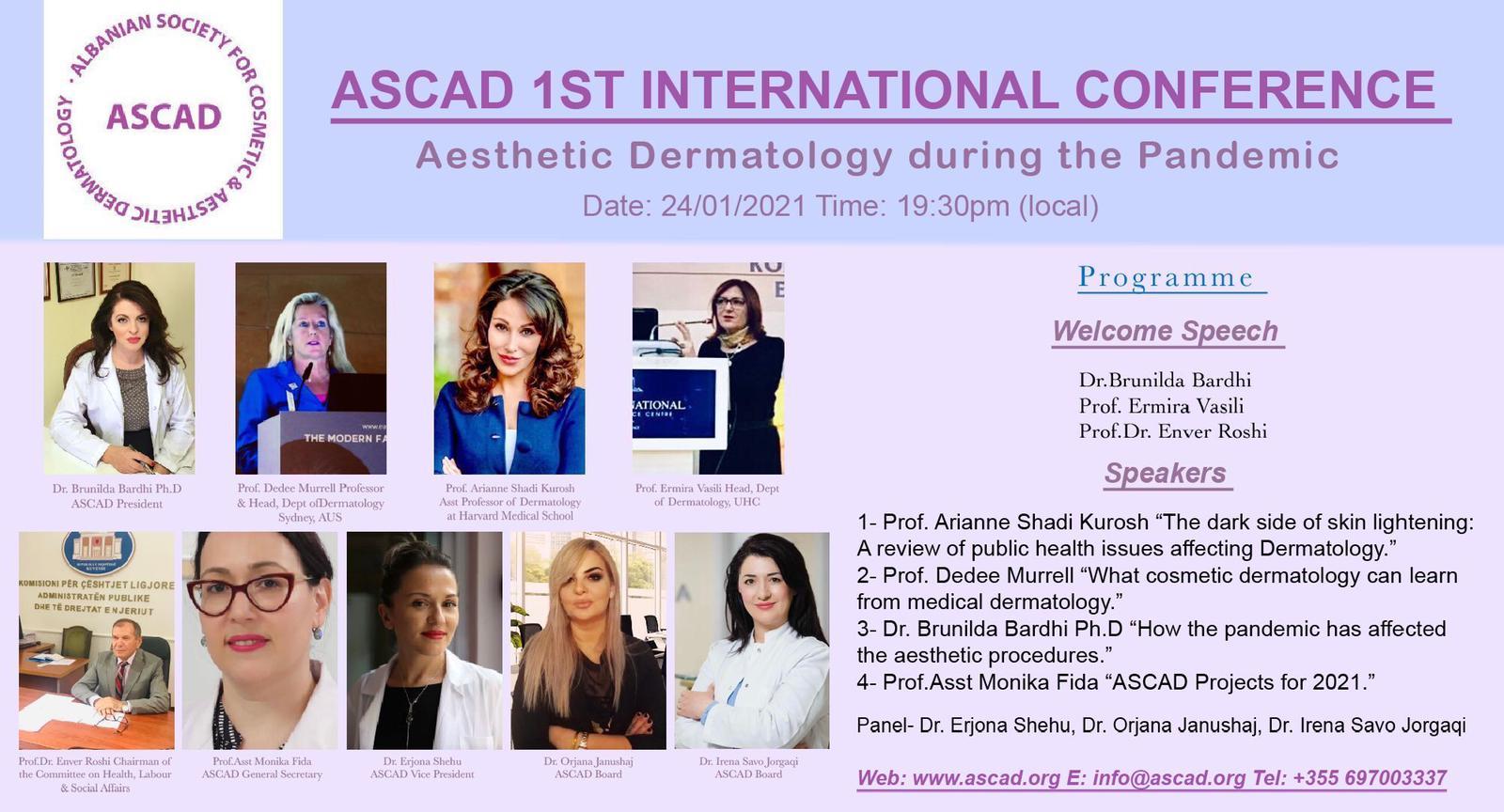 1st ASCAD Virtual International Conference